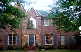 exterior paint colors with red brick design ideas pictures