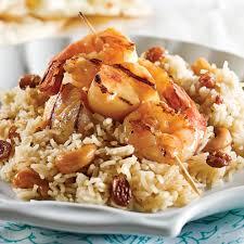 brochettes de fruits de mer à l indienne recettes cuisine et