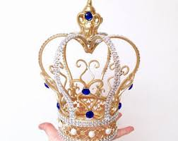 crown cake toppers crown cake topper etsy
