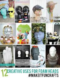 halloween foam crafts diy foam head mummy topiary inspiration made simple