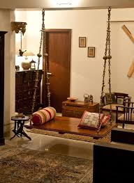 pictures of interiors of homes oonjal wooden swings in south indian homes wooden swings