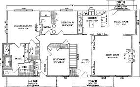 large ranch floor plans by wardcraft homes ranch floorplan