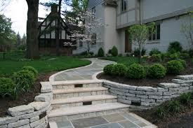 Yard Walkways Better Remade Flagstone Walkway Monday Idolza