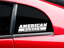 american graphics mustang americanmuscle quarter window