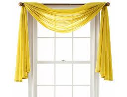 Solid Color Valances For Windows Best 25 Scarf Valance Ideas On Pinterest Curtain Scarf Ideas