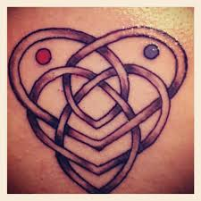 celtic father daughter knot tattoo stencil in 2017 real photo