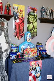 Avengers Table And Chairs Marvel Avengers Party Ideas Soiree Event Design