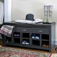 Winslow White Shoe Storage Cubbie Bench Winslow White Shoe Storage Cubbie Bench By Prepac Mudroom