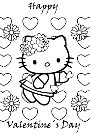 hello valentines day valentines day free coloring pages hello happy coloring