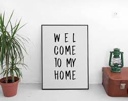 Decoration Of Homes Sentence Etsy