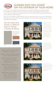 glidden on the exterior of your home glidden pdf catalogues