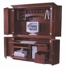 Armoire Desks Home Office Mt Eaton Bunker Hill Computer Armoire Pocket Doors Office