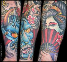 japanese sleeve lower arm by brandon schultheis tattoonow