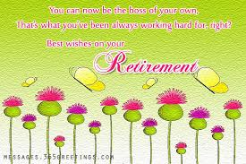 words for retirement cards retirement greeting card message wblqual