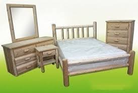 Cedar Log Bedroom Furniture by Cedar Bedroom Sets Foter