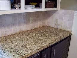 tiles backsplash favorite model kitchen travertine quartz