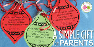 a simple parent gift free christmas ornament printable early