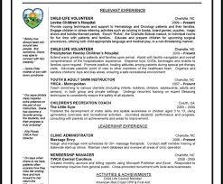 Volunteer Resume Template 100 Memberships Resume Internship Resume U2013 Resume