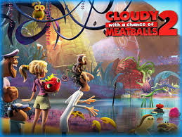 cloudy chance meatballs 2 2013 movie review film essay