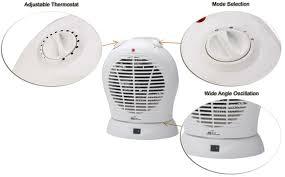 oscillating fan and heater heater hfn 20