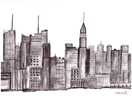 new york city home decor new york painting nyc art original watercolor painting