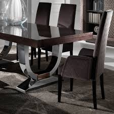modern glass dining table quilted large modern italian veneered extendable dining table juliettes