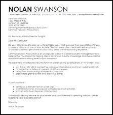 cover letter marketing example activities director cover letter 100 images campsite manager