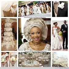 colour themes for nigerian wedding nigerian wedding chagne and cream wedding color scheme african