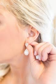sensitive skin earrings statement earrings for sensitive ears j adorn designs bridal fashion
