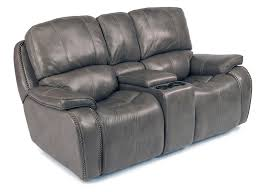 Recliner With Cup Holder Flexsteel Latitudes Mackay Power Reclining Loveseat With Storage