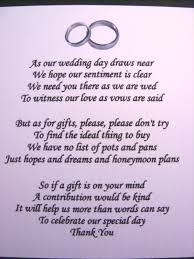 Wedding Poems For Invitation Cards 20 Wedding Poems Asking For Money Gifts Not Presents Ref No 4