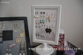 earring holder for studs diy stud earring holder