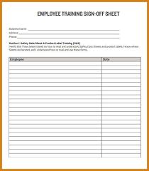 sample sign in sheet letter format template