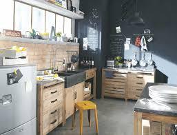 cuisine ardoise et bois cuisine bois et ardoise