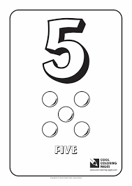 digits coloring pages cool coloring pages