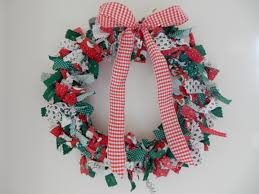 october 20th u201466 days until christmas u2014rag wreath mrs saint nick