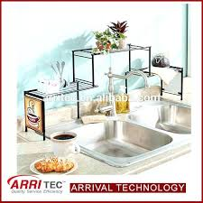 easy home expandable under sink shelf under sink shelf kitchen organizer easy home expandable specials