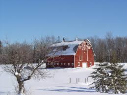 Wallpaper Barn Snowy Red Barn Desktop Wallpaper Wallpapersafari