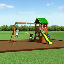 Swing Set For Backyard by Oakmont Wooden Swing Set Playsets Backyard Discovery
