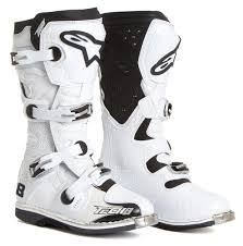 motocross boots alpinestars alpinestars mx boots tech 8 rs white vented 2018 maciag offroad