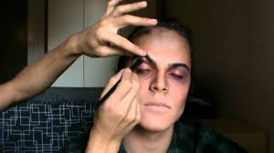 Mens Halloween Makeup Ideas Vampire The Making Of Halloween Make Up Tutorial Youtube