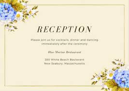 wedding reception cards customize 35 wedding reception card templates online canva