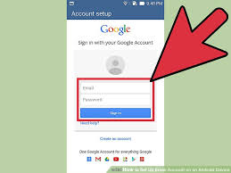 setting up email on android how to set up email account on an android device 5 steps