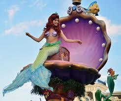 today s disney photo ariel on at parade a gator in naples
