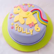 pony cake purple my pony cake my cake place