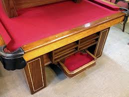 Antique Brunswick Pool Tables by Sold Pre Owned Brunswick Antique Madison 9ft Regulation Pool Table