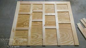 diy rustic headboard southern breeze collections