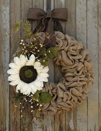 best 25 sunflower burlap wreaths ideas on diy