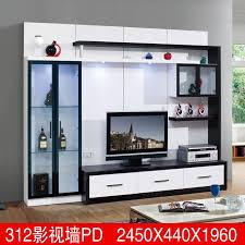 living room furniture modern design display format led tv cabinet
