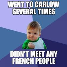 Meme Baby Success - successful baby went to carlow weknowmemes generator